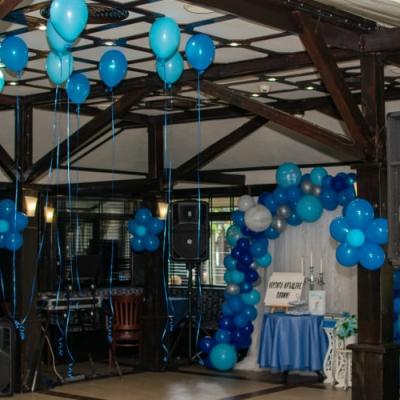Кръщение в синьо в Ресторант София