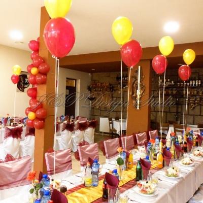 Украса за рожден ден в бордо в Ресторант Голеж
