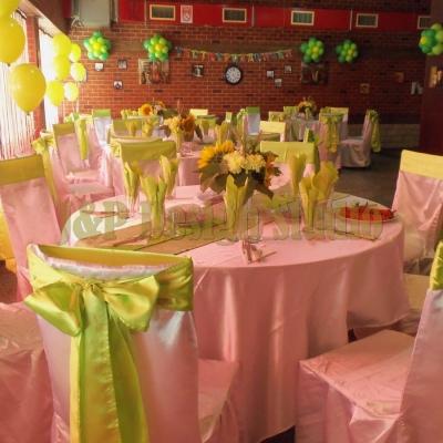 рожден ден в зелено и жълто