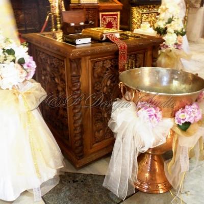 Декорация за кръщене в Шато Монтан и Троянски Манастир