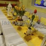 украса за рожден ден в жълто