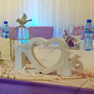 Сватбена украса в Ресторант Балкан