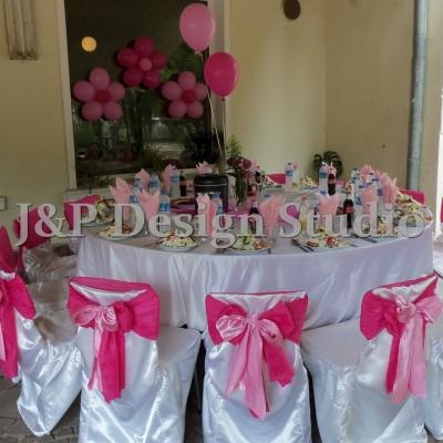 Рожден ден в розово
