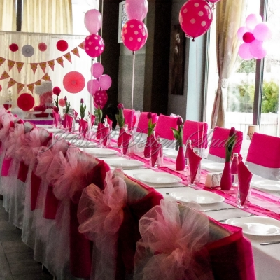 Украса за детски рожден ден в Ресторант Vanilla Garden