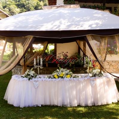 Градинска сватба в Рибарица