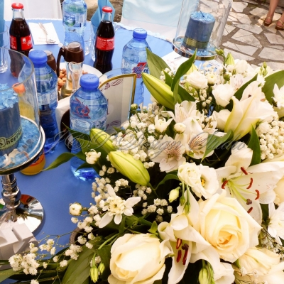 Сватбена декорация с морска тематика
