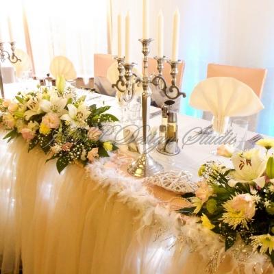 Сватбена украса в Ресторант Централ, Плевен